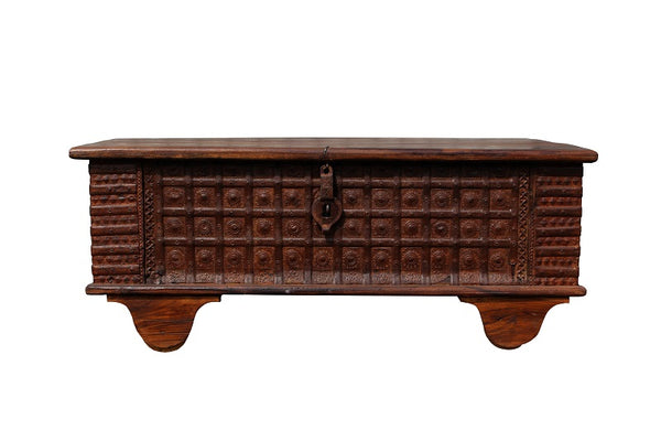 Nagaland Storage Trunk - Coffee Table - HomeStreetHome.ie