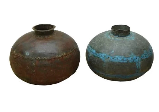 Nagore Vintage Garden Water Pots - HomeStreetHome.ie