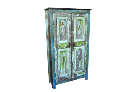Old Door Reclaimed Wood Cabinet - HomeStreetHome.ie