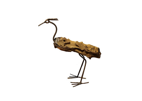 Ostrich  Recycled Metal & Wood - HomeStreetHome.ie