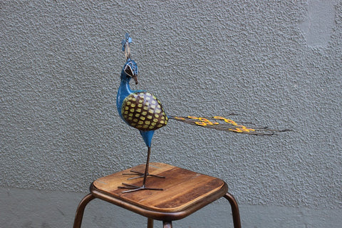 Metal Art Peacock - HomeStreetHome.ie