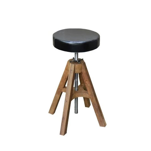 Piano Leather Swivel Stool - HomeStreetHome.ie