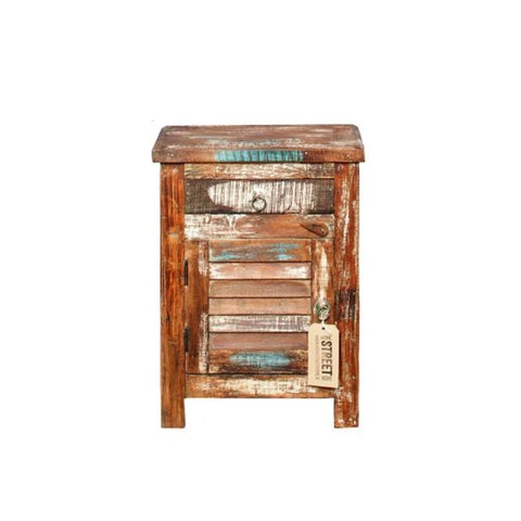 The Plantation Bedside Locker - HomeStreetHome.ie