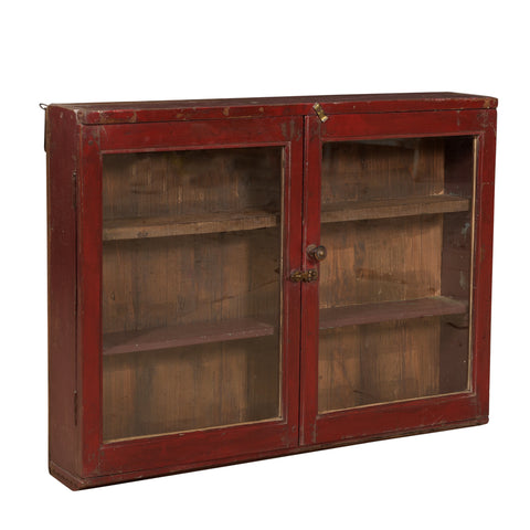 Pompier Wall Glass Hanging Cabinet