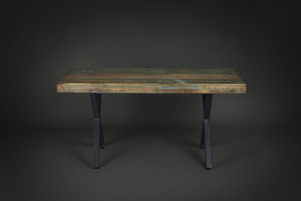 Reclaimed Mixed Wood Dining Table