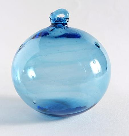 Recycled Glass Christmas Bauble - HomeStreetHome.ie