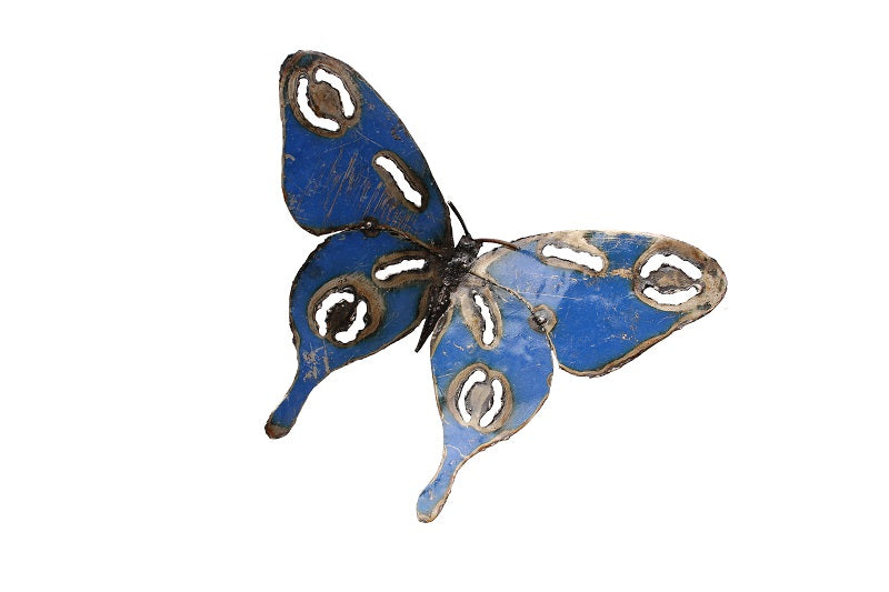 Jeff Butterfly Recycled Metal - HomeStreetHome.ie