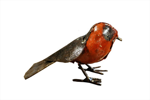 Recycled Metal Robin - HomeStreetHome.ie
