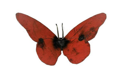 Medium Recycled Metal Butterfly - HomeStreetHome.ie