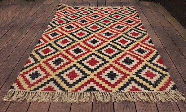Non Stain Multi Coloured PET Rug - HomeStreetHome.ie