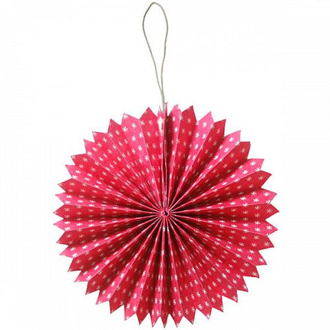 Paper Rosace Hanging Decoration - HomeStreetHome.ie