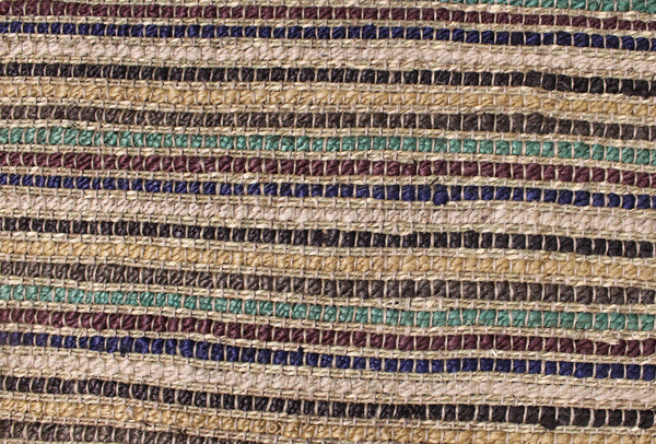 Multi Striped Jute Rug - HomeStreetHome.ie