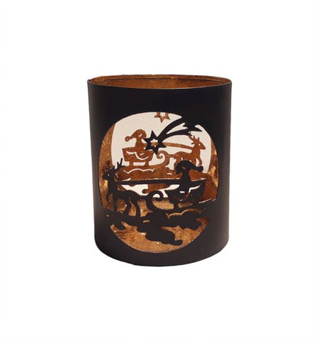 Santa Tealight Holder - HomeStreetHome.ie