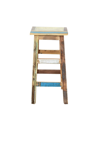 Scrap Wood Bar Stool - HomeStreetHome.ie