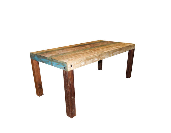 Silver Sand Table Reclaimed Wood - HomeStreetHome.ie