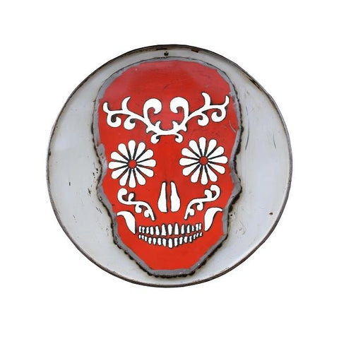 Skull Wall Panel - HomeStreetHome.ie