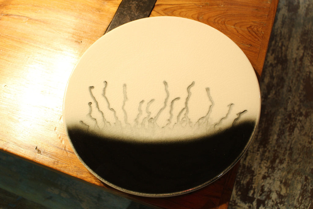 Handmade Ceramic Serving Plate - HomeStreetHome.ie
