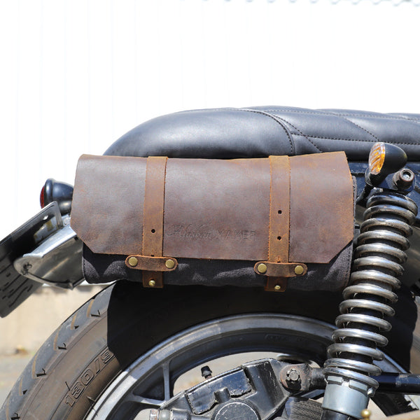 Tool Bag Waxed Canvas Charcoal