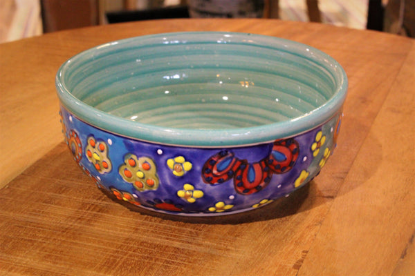 Handpainted Ceramic Bowl - HomeStreetHome.ie