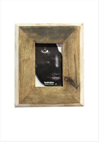 Dark - Light Wood Tapered Photo Frame - HomeStreetHome.ie