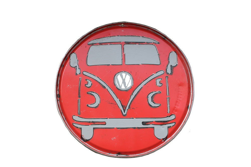 VW Wall Metal Panel - HomeStreetHome.ie