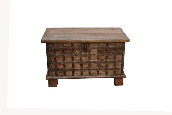 Traditional Teak Storage Chest