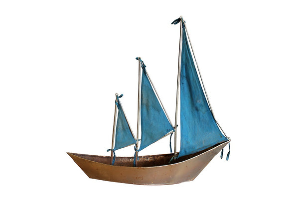 Vintage Toy Sailing Ship - HomeStreetHome.ie