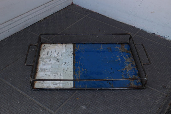 Metal Recycled Tray - HomeStreetHome.ie