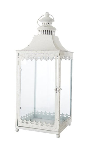Chantal White Lantern - HomeStreetHome.ie