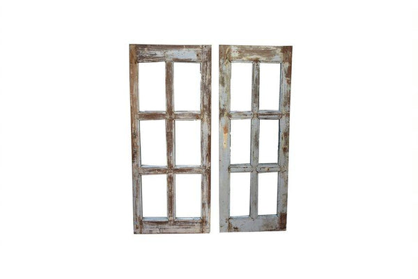 Reclaimed Window Mirror - HomeStreetHome.ie