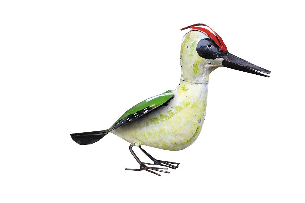 Woodpecker Metal Recycled - HomeStreetHome.ie