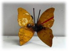 Small Recycled Metal Butterfly - HomeStreetHome.ie