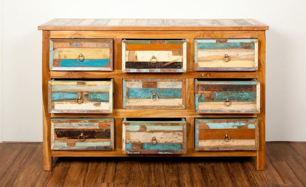 'Escape' 9 Drawer Sideboard Dresser - HomeStreetHome.ie