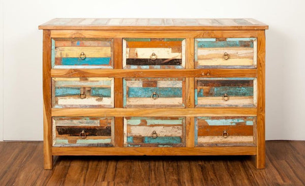 'Escape' 9 Drawer Farmhouse Sideboard Dresser - HomeStreetHome.ie