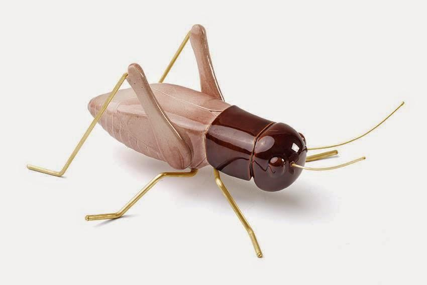 Ceramic Cricket Rose - HomeStreetHome.ie