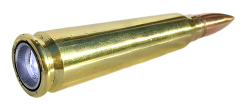 real bullet flashlight 50 bmg light