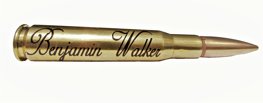 Example of Bullet with Vinyl Decal