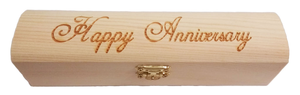 6 Pack of Mens Personalized Wood Gift Boxes, Custom Laser Engraved ...