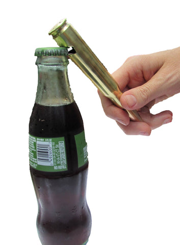Bullet Bottle Opener - Brass Honcho