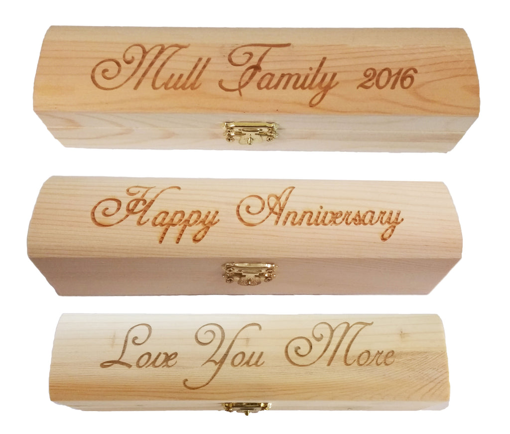 Ultimate Armored Flashlight with Personalized Wood Gift Box (laser engraved up to 20 characters) - Brass Honcho