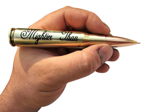 Mightier Than the sword bullet pen
