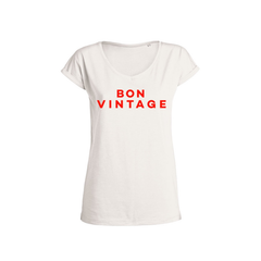 Organic cotton Slub TShirt | Bon Vintage from FWP BY The French Wine Project