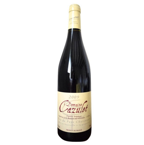 Domaine Cazulet organic red wine