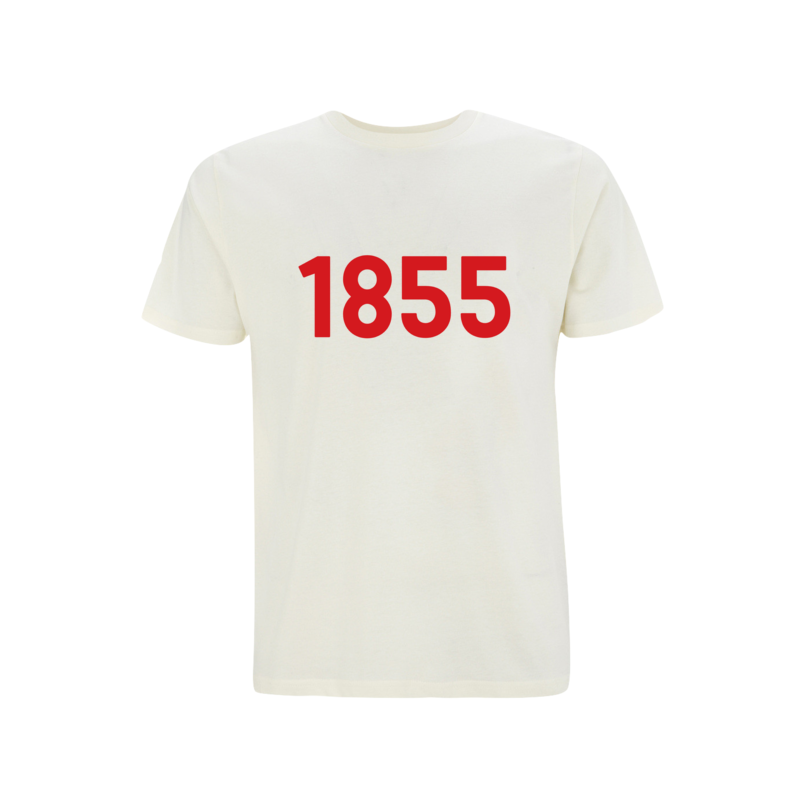 Men's Organic Cotton T-shirt | 1855 Print