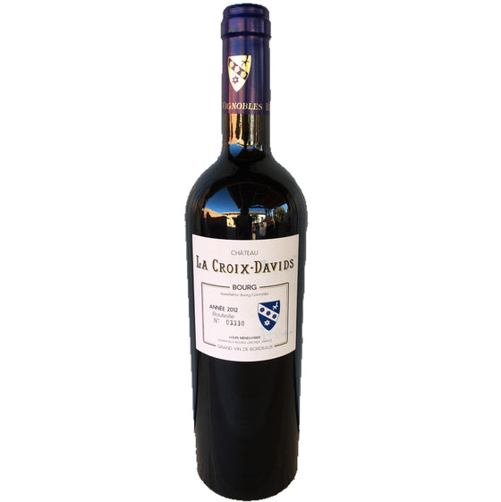 Chateau La Croix Davids. Bourg red wine
