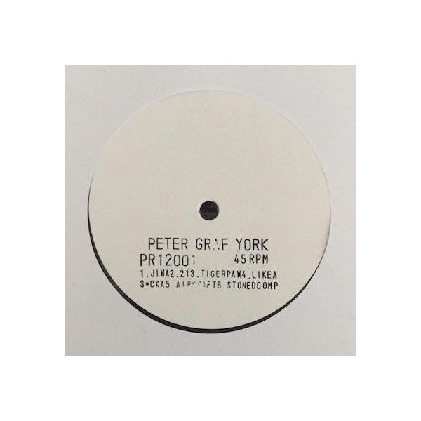 "Peter Graf York - 12"" Sampler"
