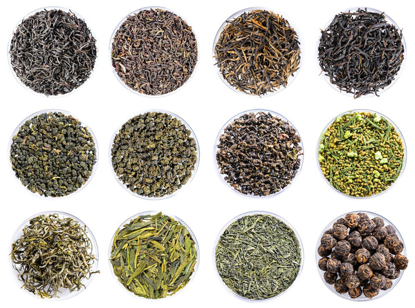 types of chinese teas