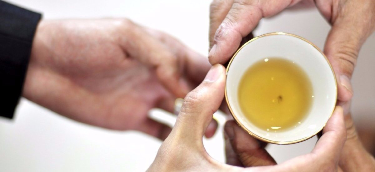 borntea social mission give teas to the elderly