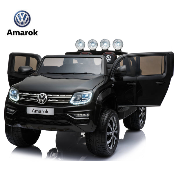 VW Amarok 12 V kids ride on car - BLACK