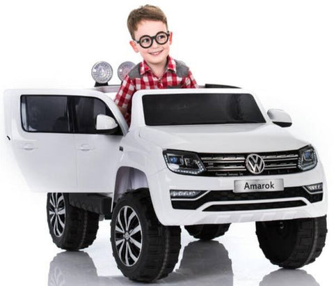 DEMO VW Amarok 12 V kids ride on car